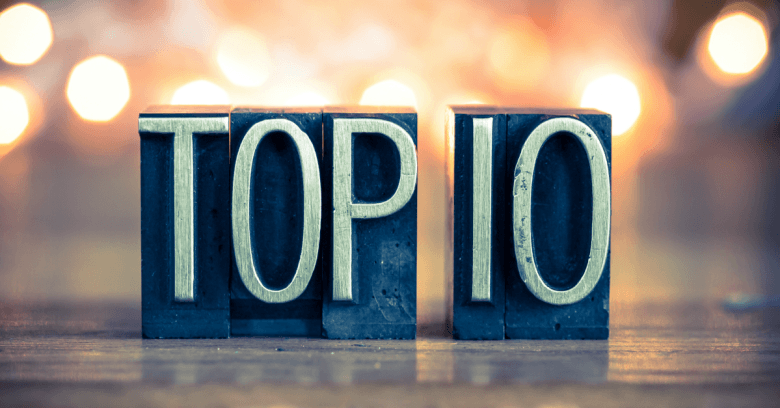 Image result for Top Ten